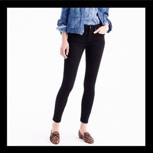 J.Crew skinny ankle toothpick jeans, size 30